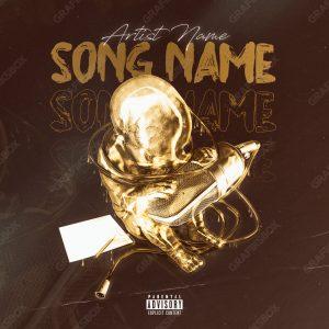gold mic cover art