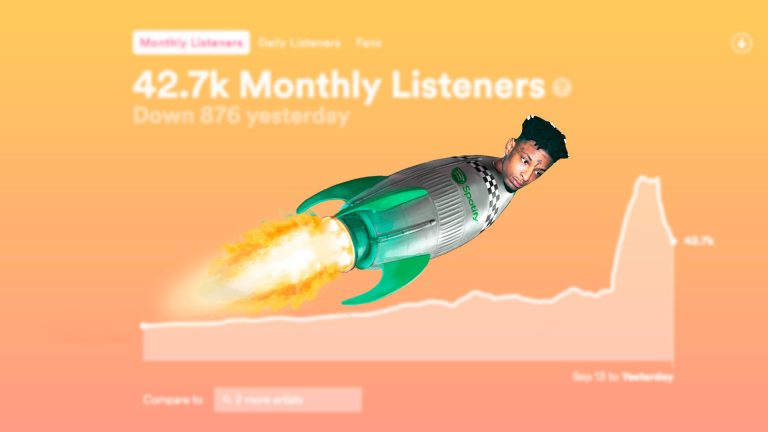21 savage get fans on spotify