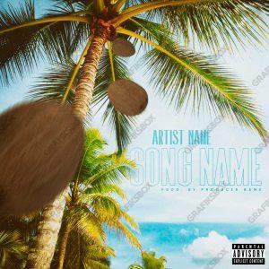 tropical album cover art